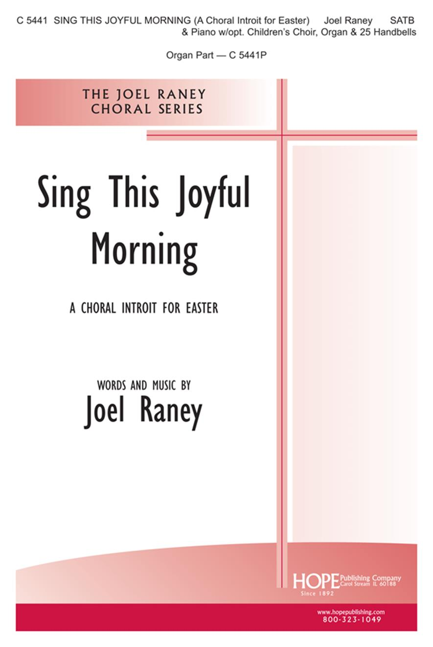 Sing This Joyful Morning - SATB Cover Image