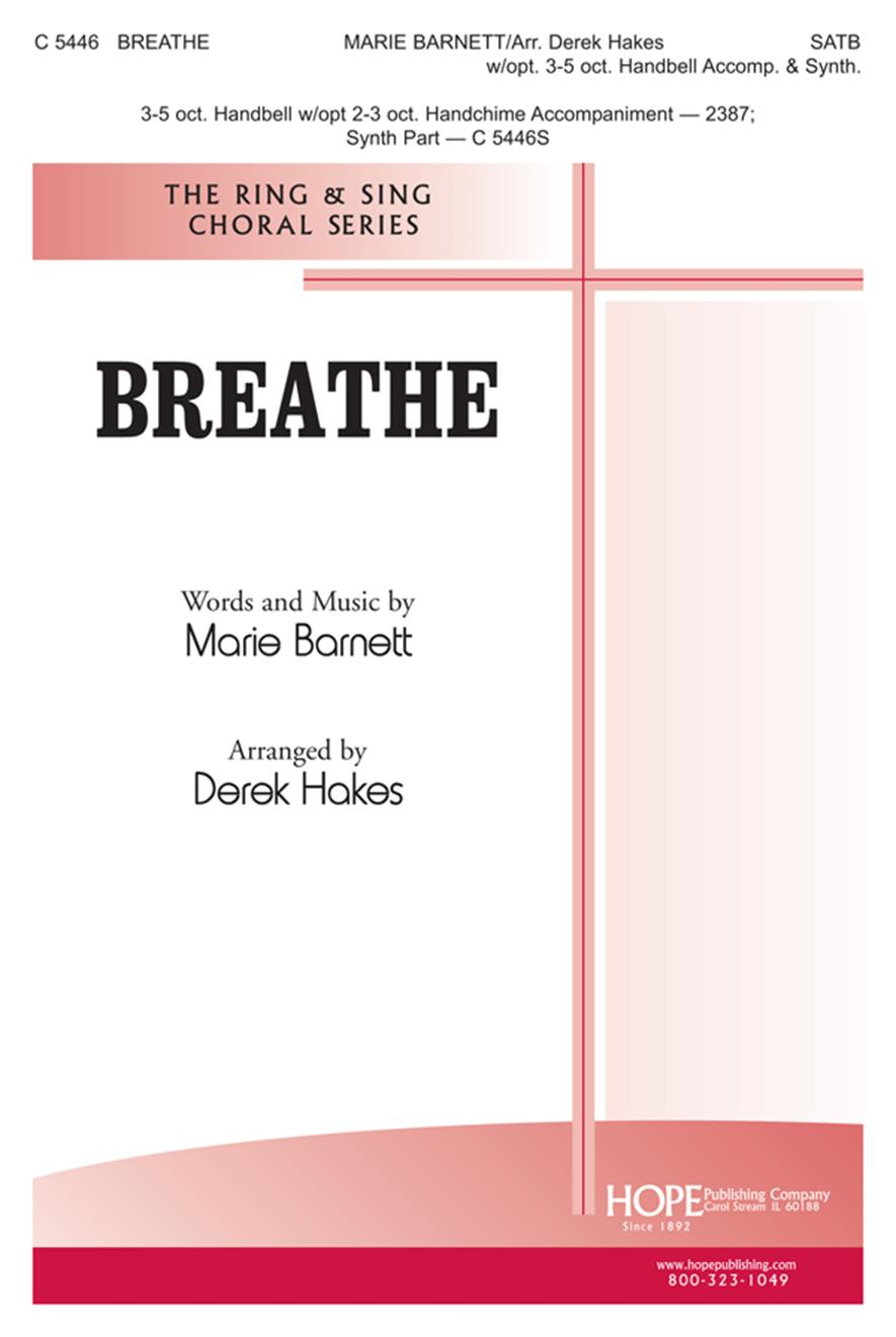 Breathe - SATB Cover Image