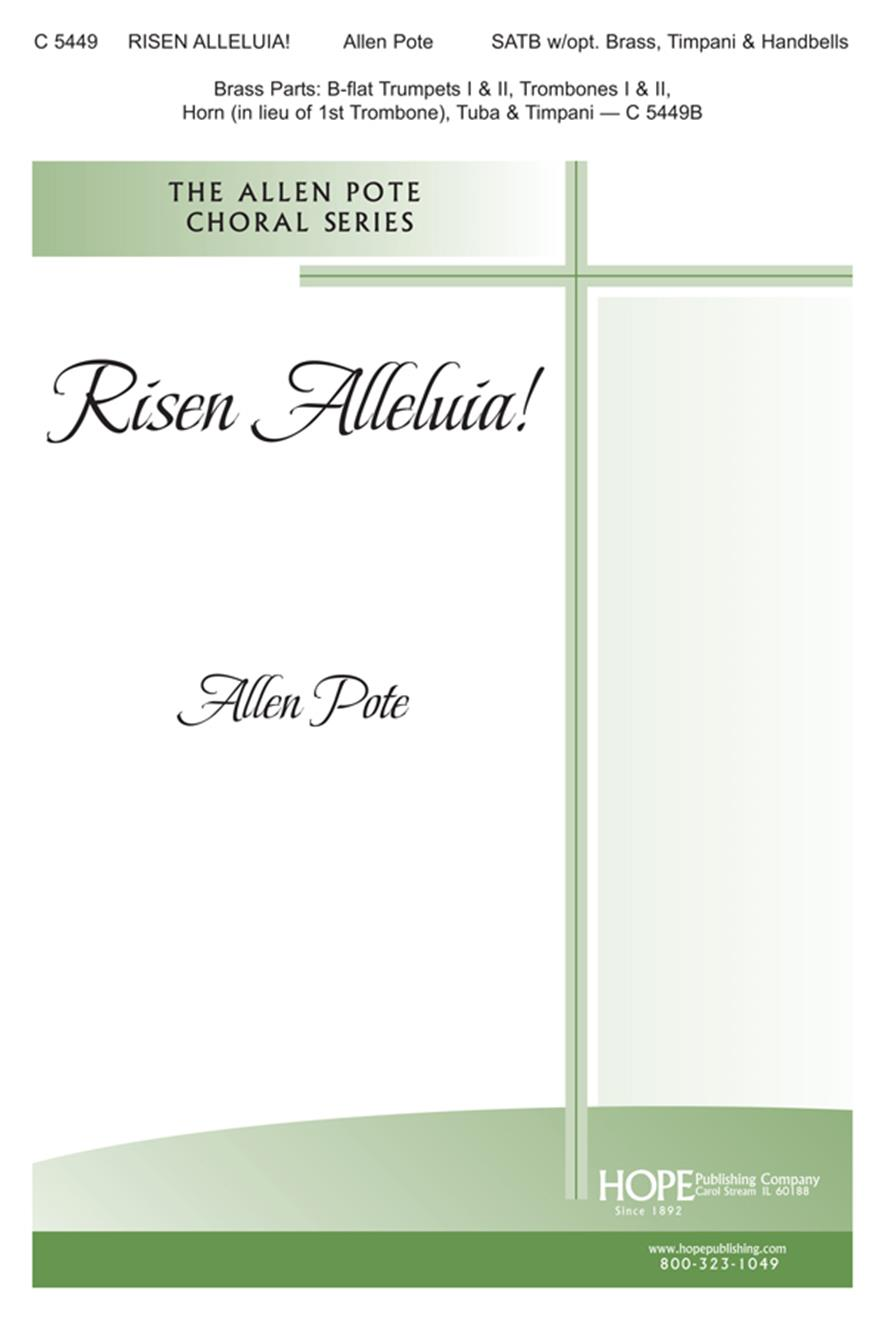 Risen Alleluia - SATB Cover Image