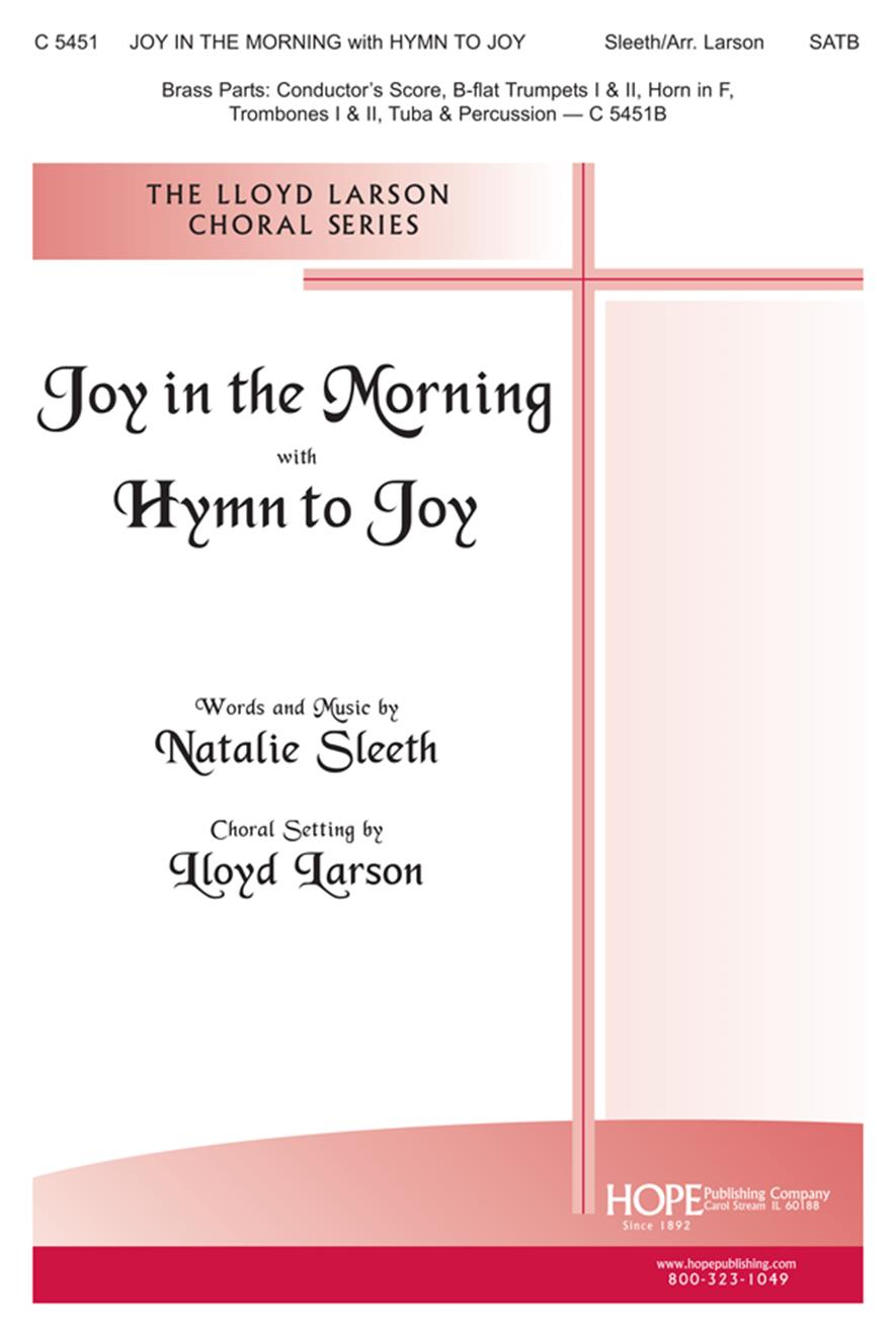 Joy in the Morning w-Hymn to Joy - SATB Cover Image