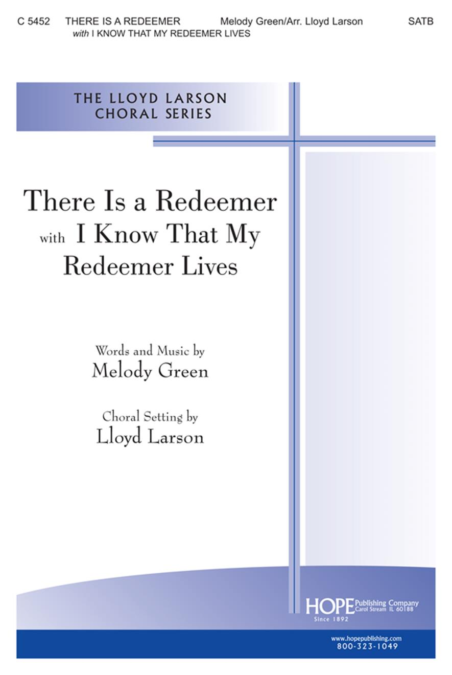 There Is a Redeemer - SATB Cover Image