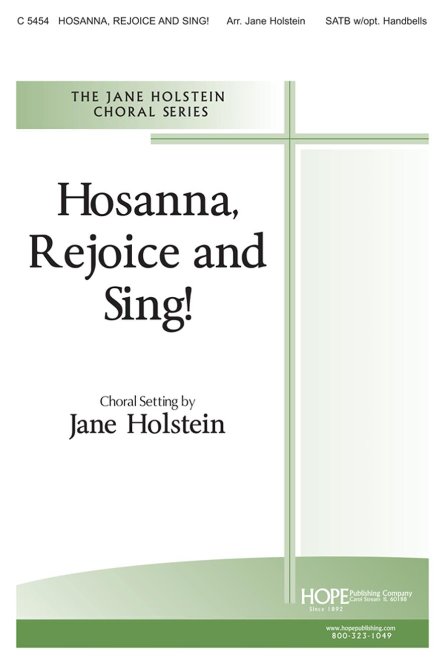 Hosanna Rejoice and Sing - SATB Cover Image