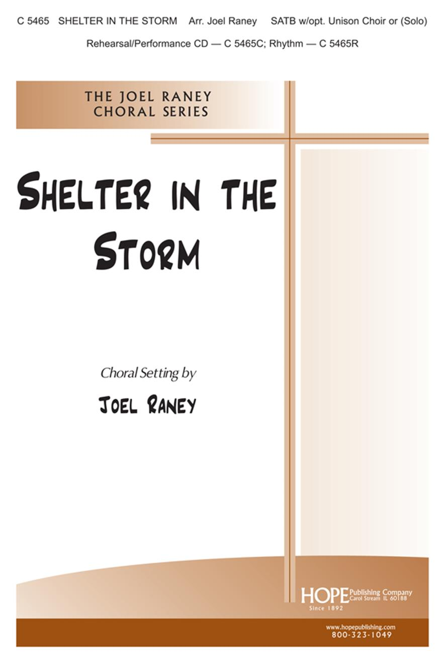 Shelter in the Storm - SATB Cover Image