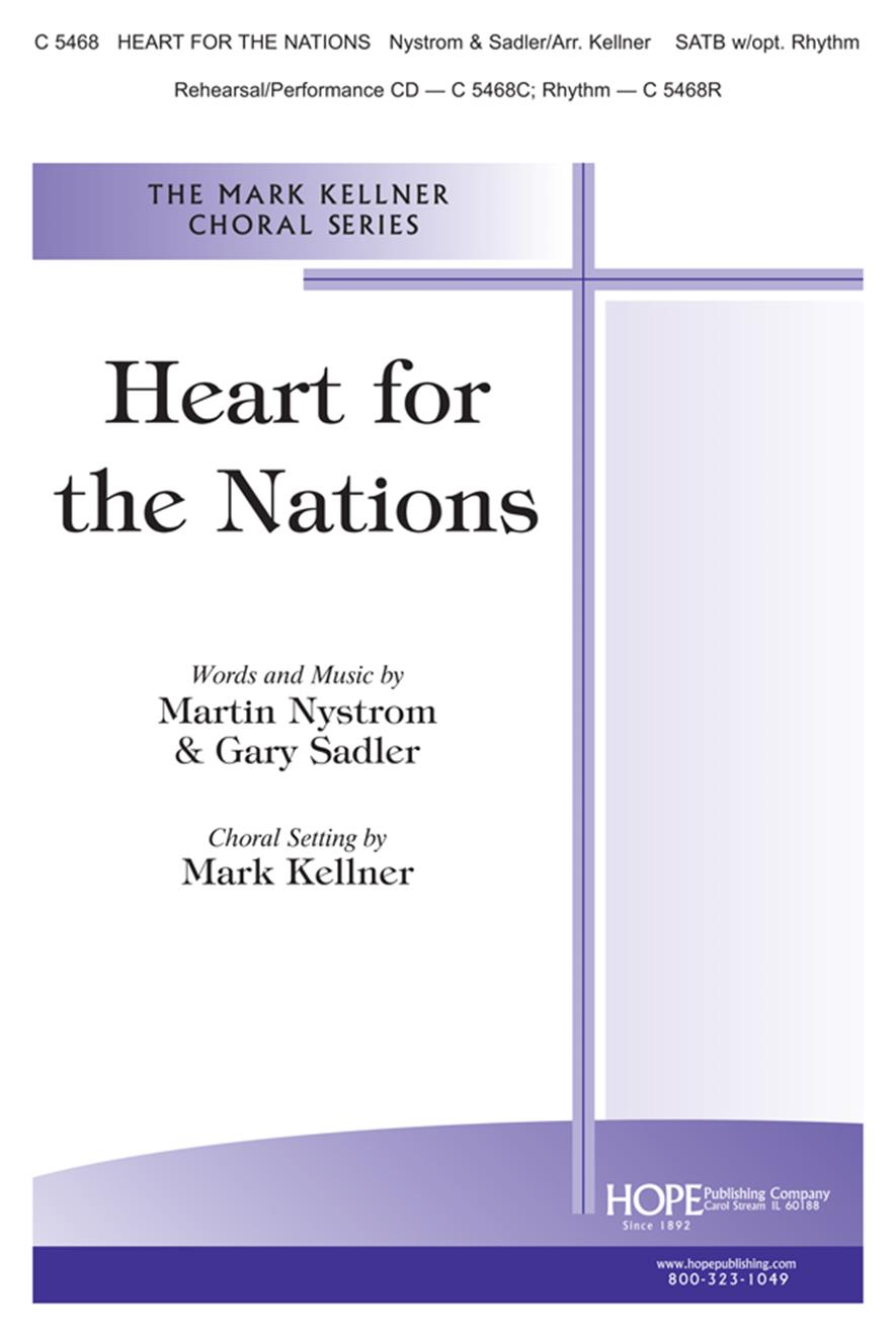 Heart for the Nations - SATB Cover Image