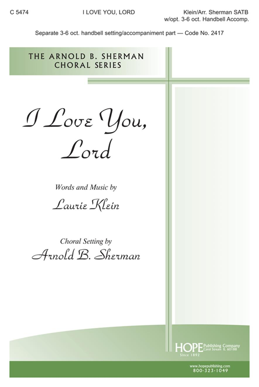 I Love You Lord - SATB Cover Image