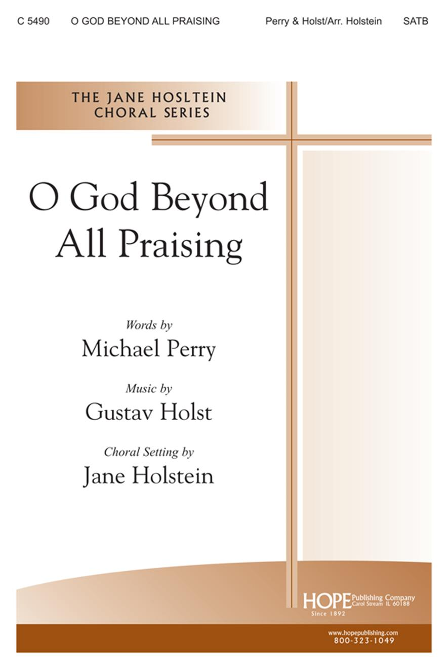 O God Beyond All Praising - SATB Cover Image