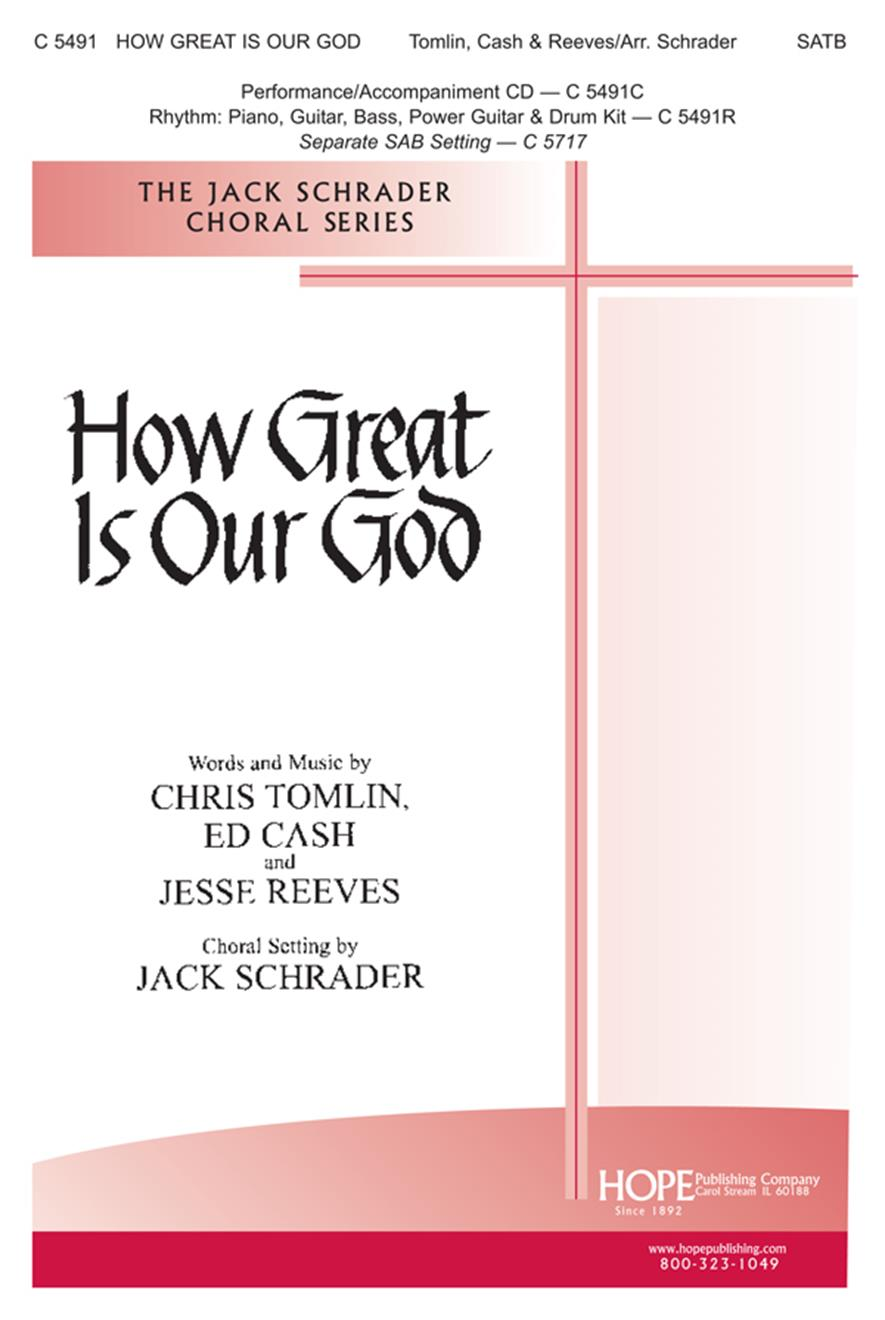 How Great Is Our God - SATB Cover Image