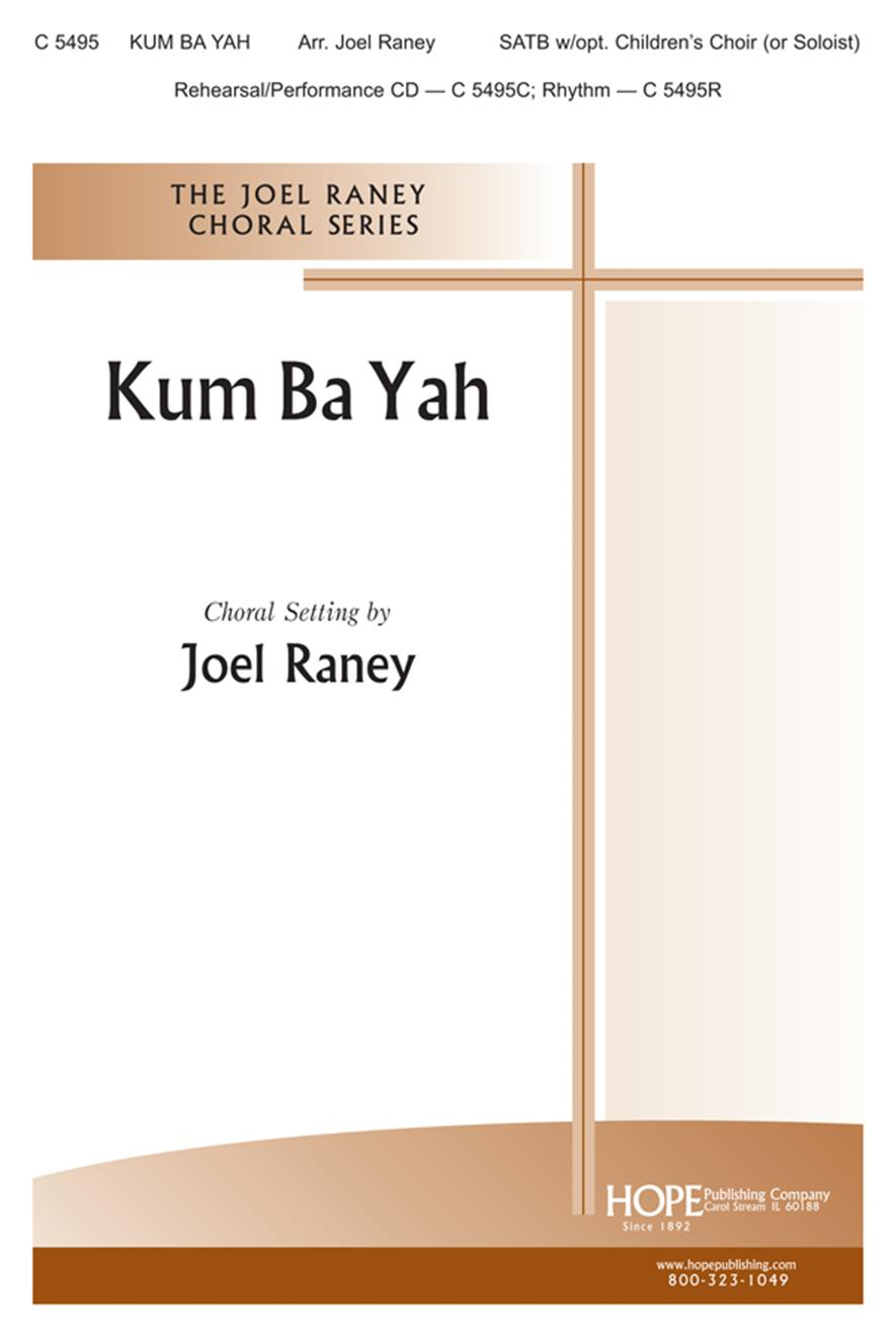 Kum Bah Yah - SATB w-opt. children's choir Cover Image