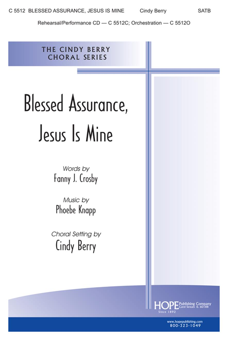 Blessed Assurance Jesus Is Mine Cover Image