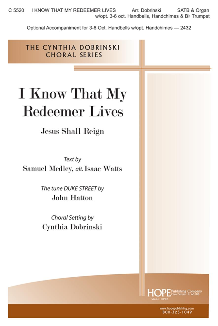 I Know that My Redeemer Lives - SATB w-opt. bells and trumpet Cover Image