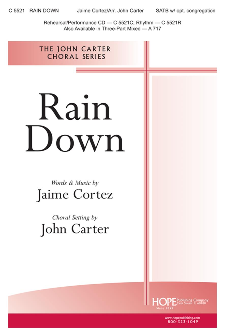 Rain Down - SATB Cover Image