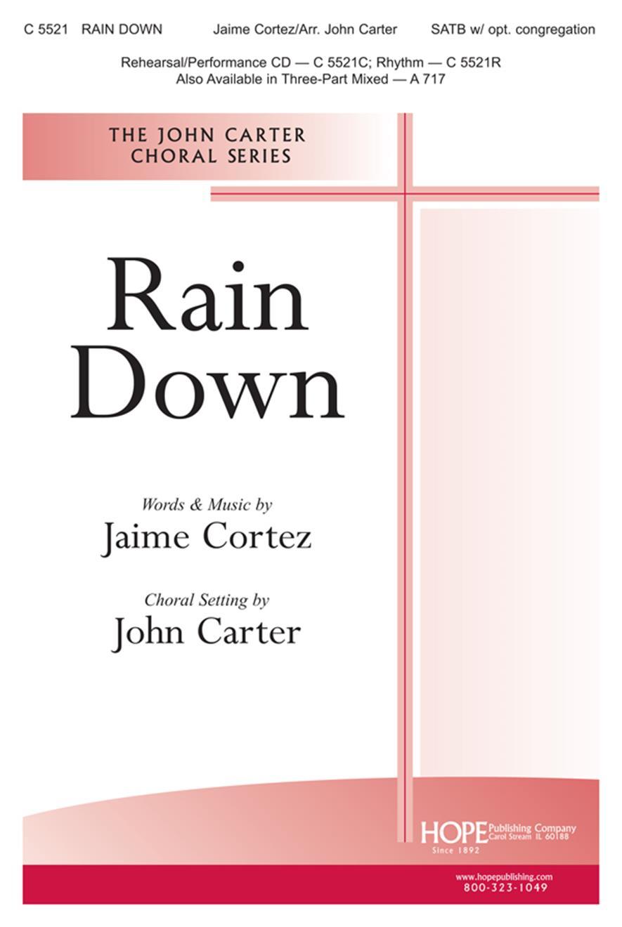 Rain Down - SATB Cover Image