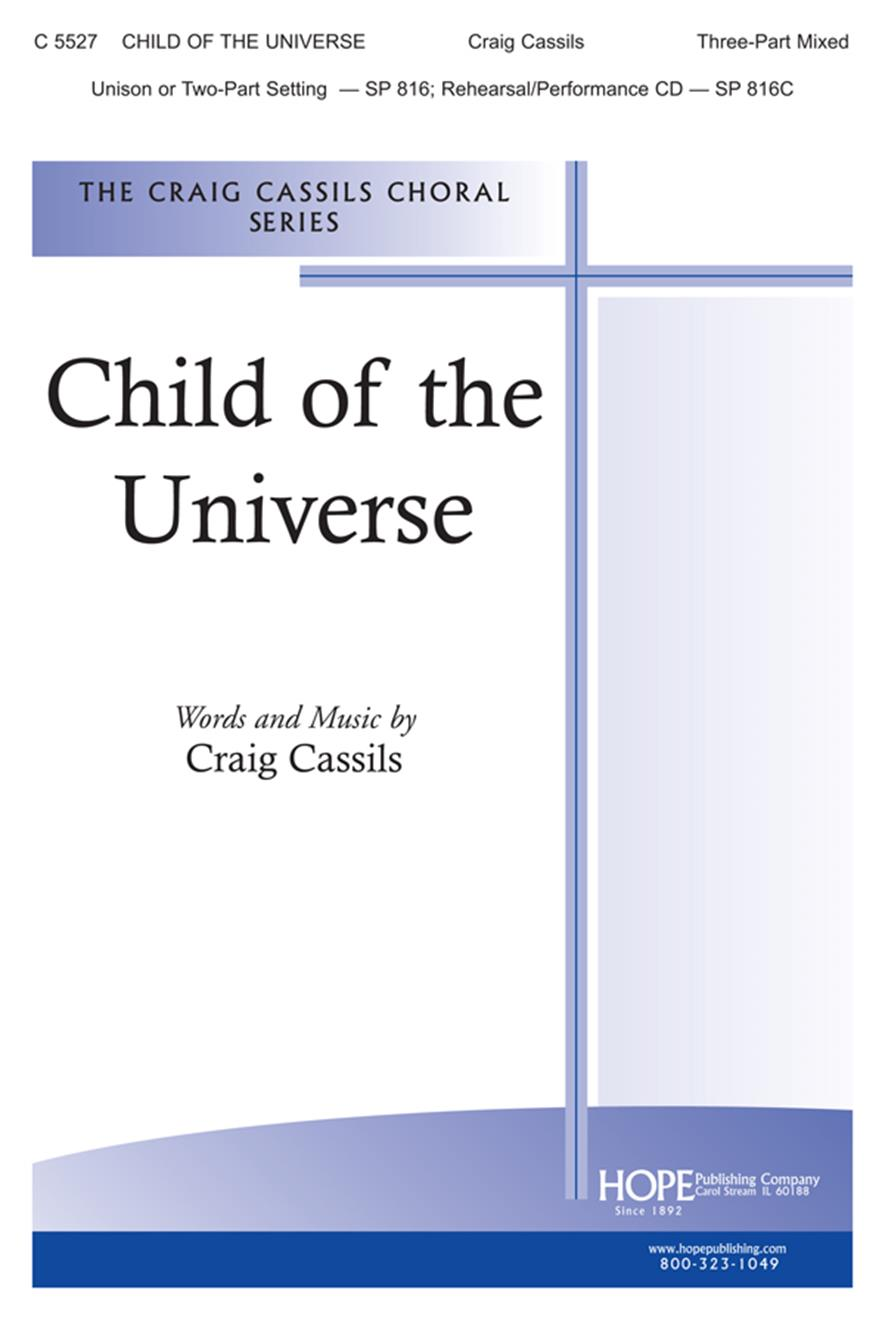 Child of the Universe - 3-Part Mixed Cover Image