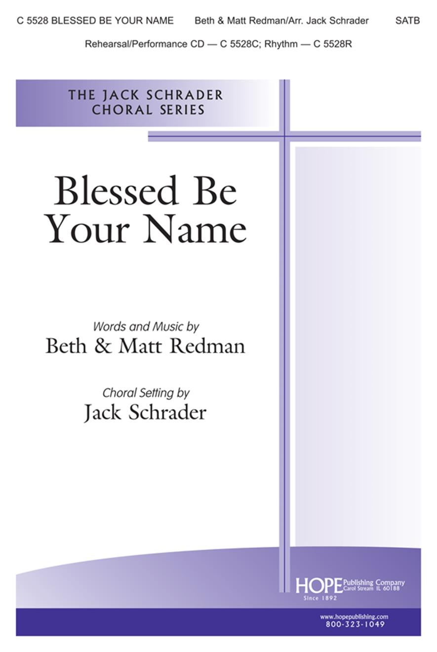 Blessed Be Your Name - SATB Cover Image