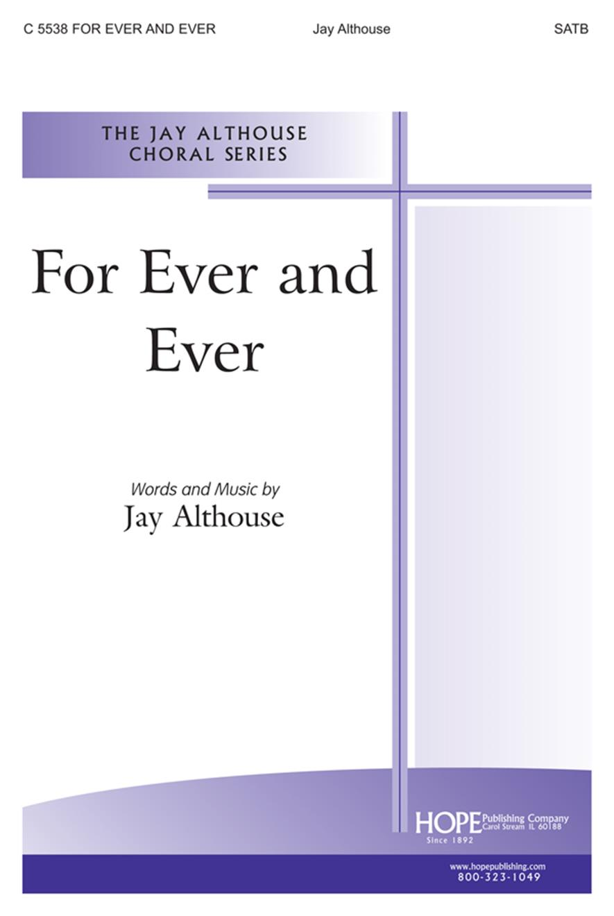 For Ever and Ever - SATB Cover Image