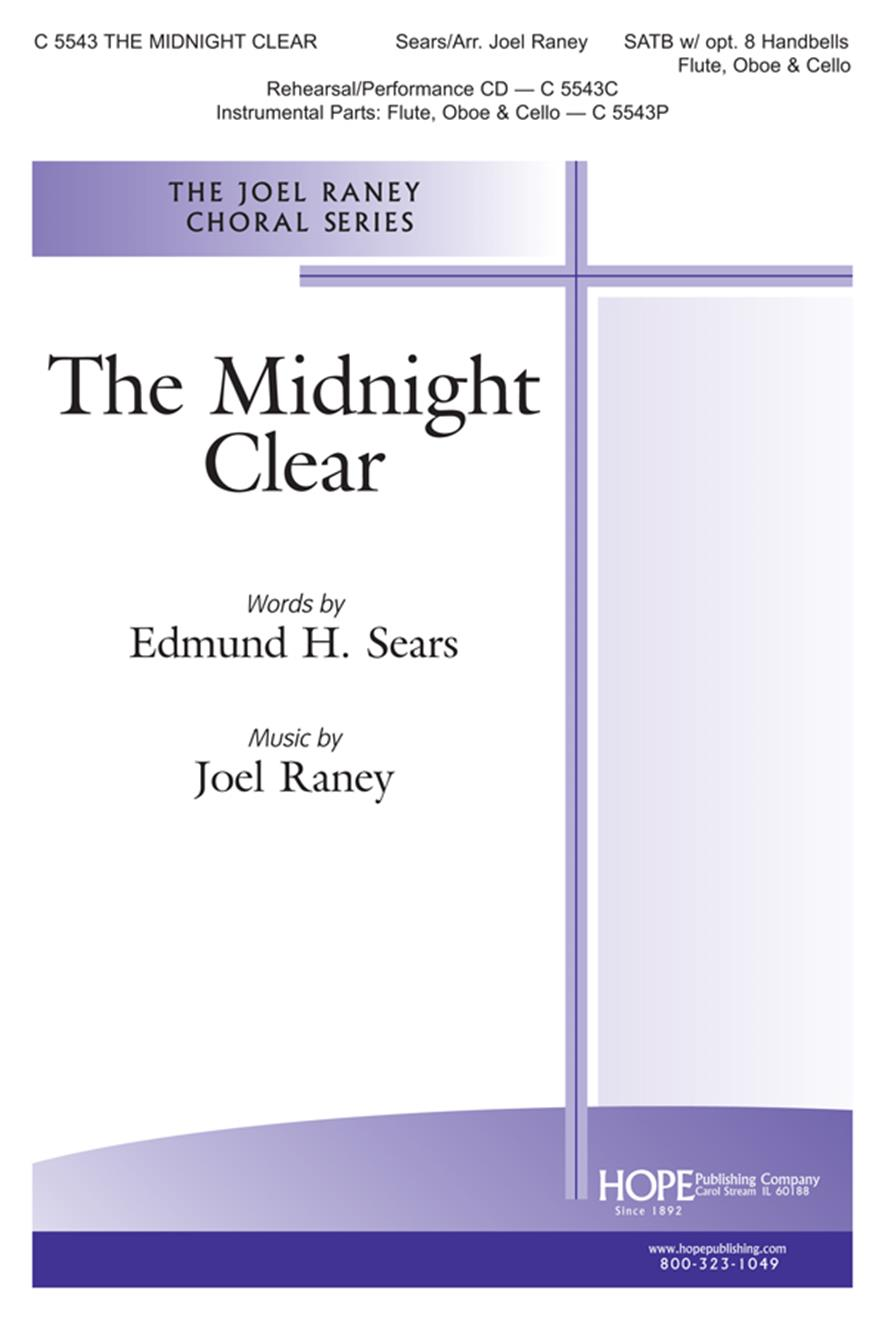 Midnight Clear The - SATB w-9 opt. handbells Cover Image