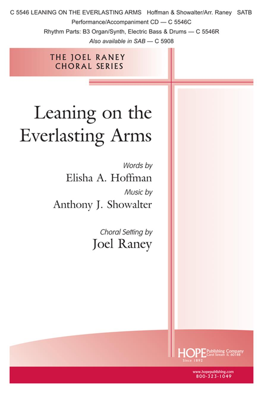 Leaning on the Everlasting Arms - SATB Cover Image