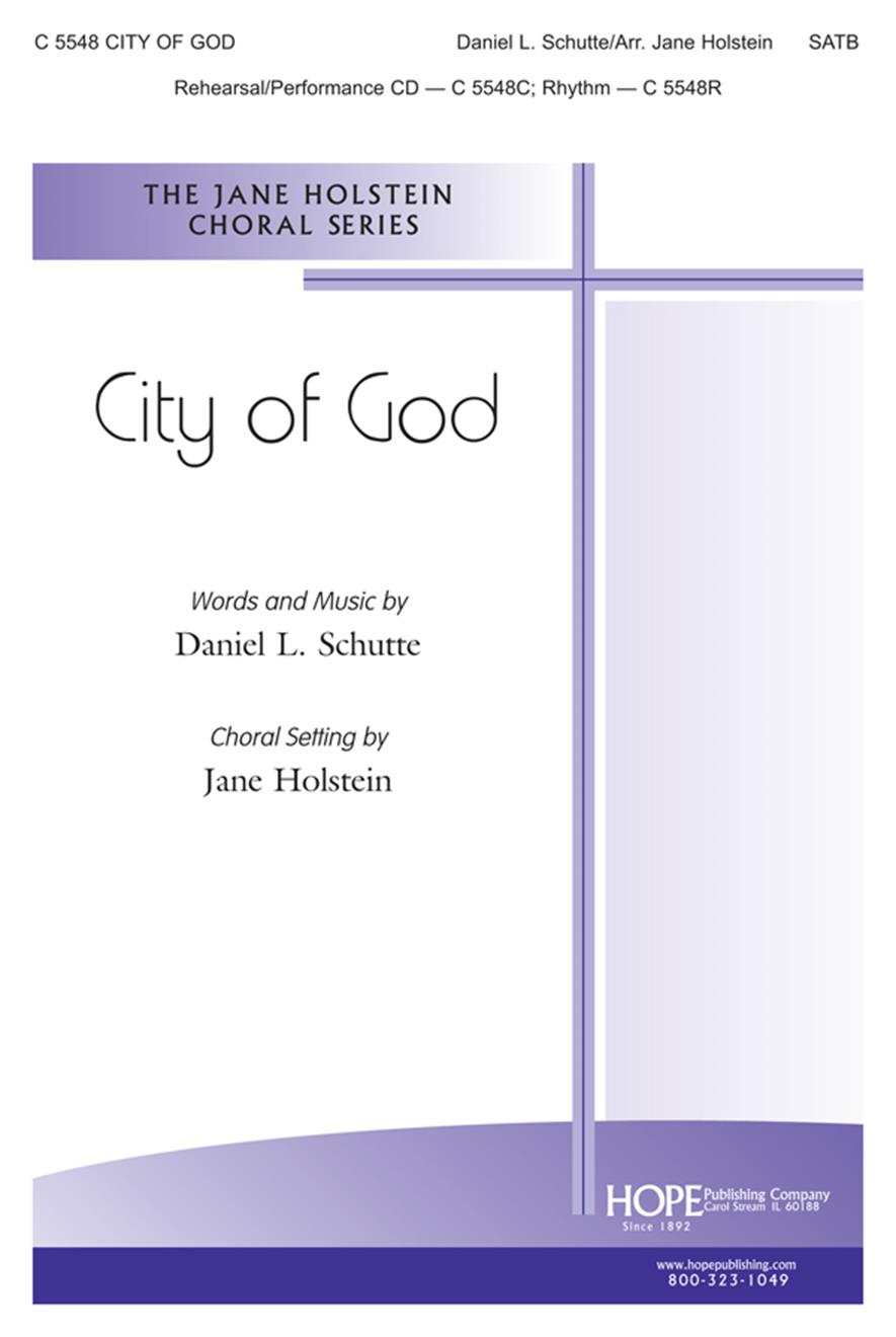 City of God - SATB Cover Image