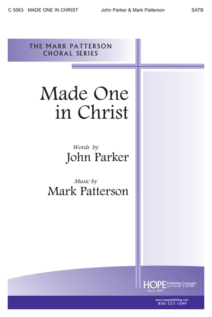 Made One in Christ - SATB Cover Image
