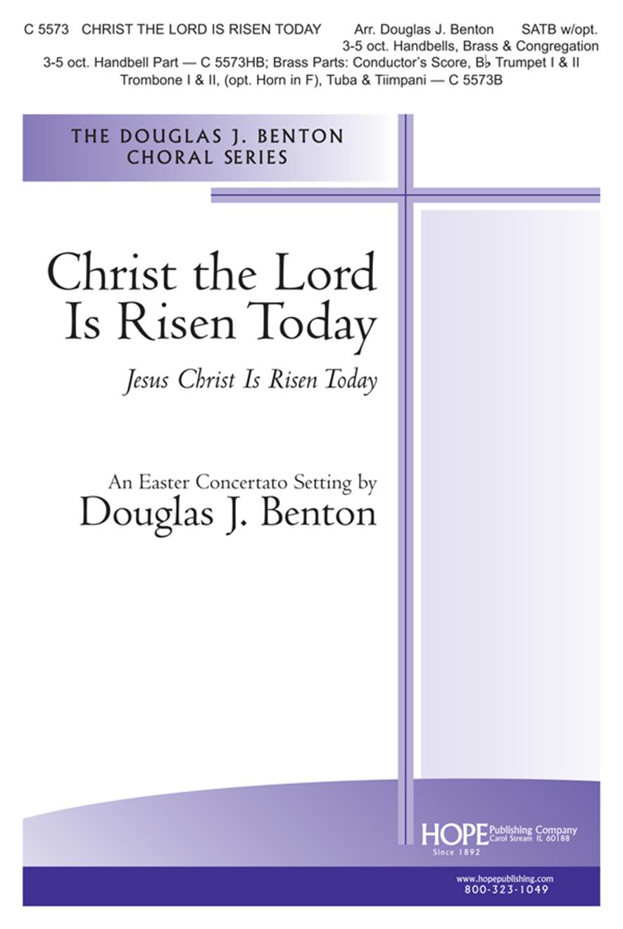 Christ the Lord Is Risen Today - SATB Cover Image