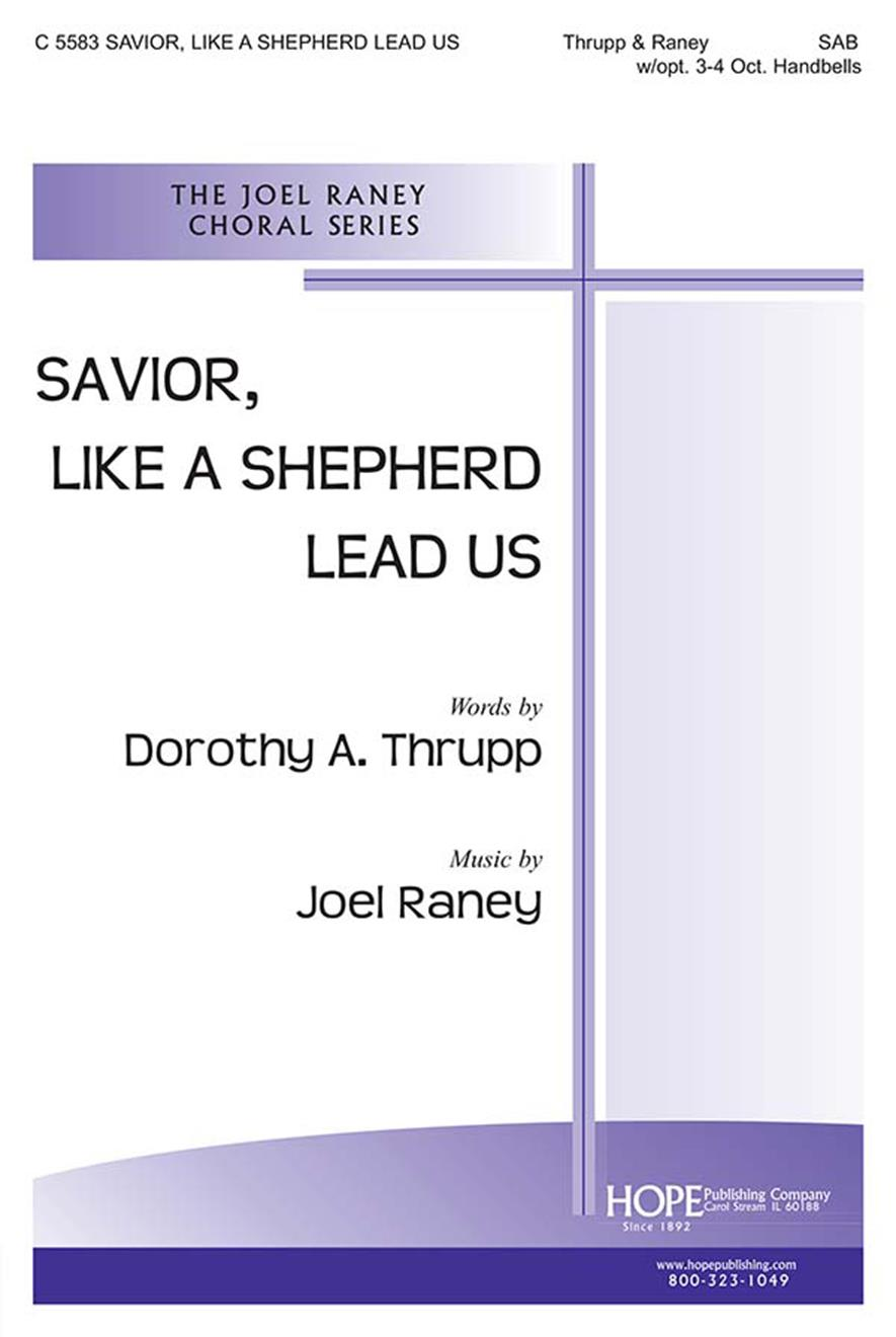 Savior Like a Shepherd Lead Us - SAB w-opt. 3-4 oct. Handbells Cover Image