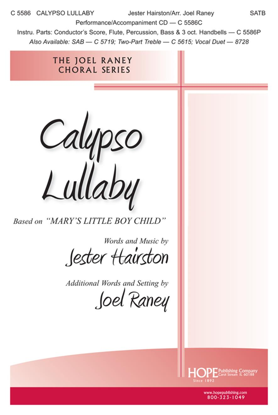 Calypso Lullaby - SATB Cover Image