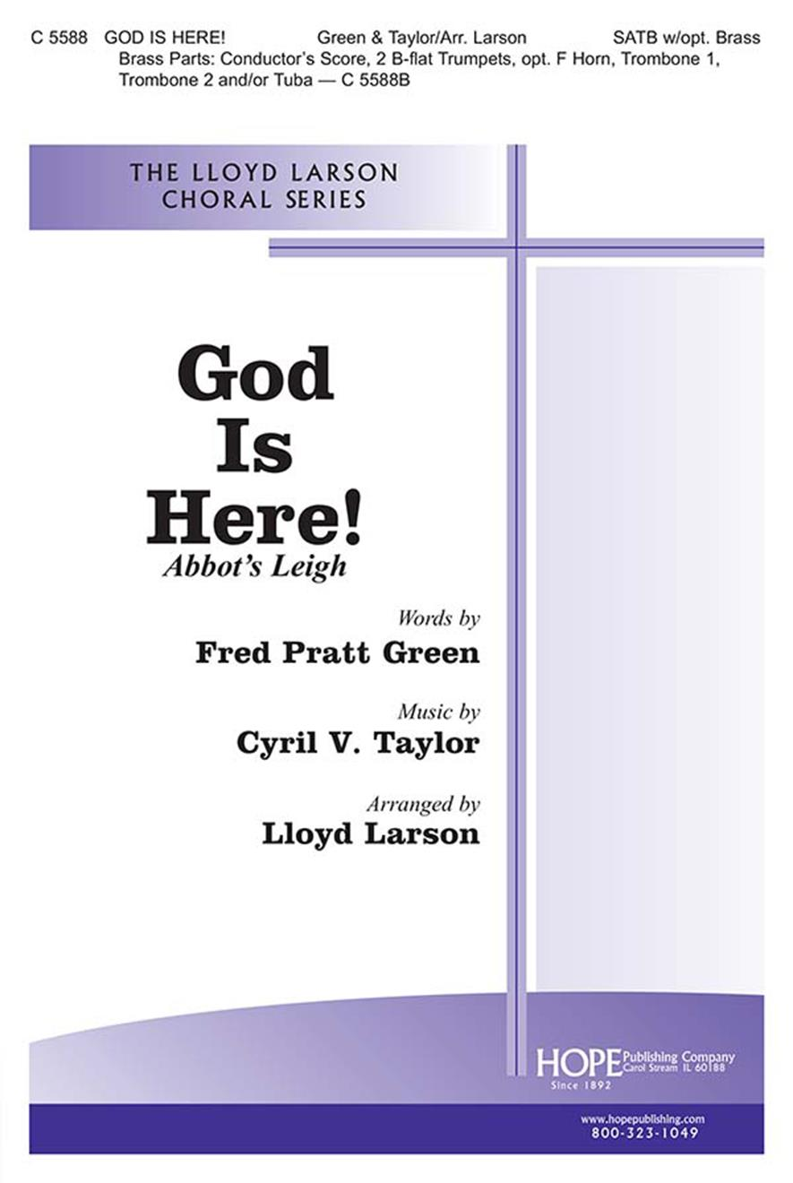 God Is Here - SATB Cover Image