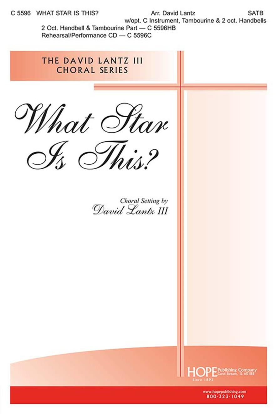 What Star Is This - SATB Cover Image