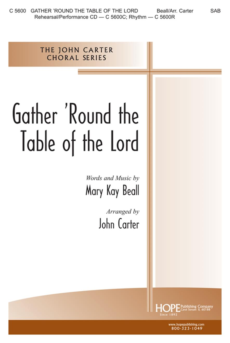 Gather 'Round the Table of the Lord - SAB Cover Image
