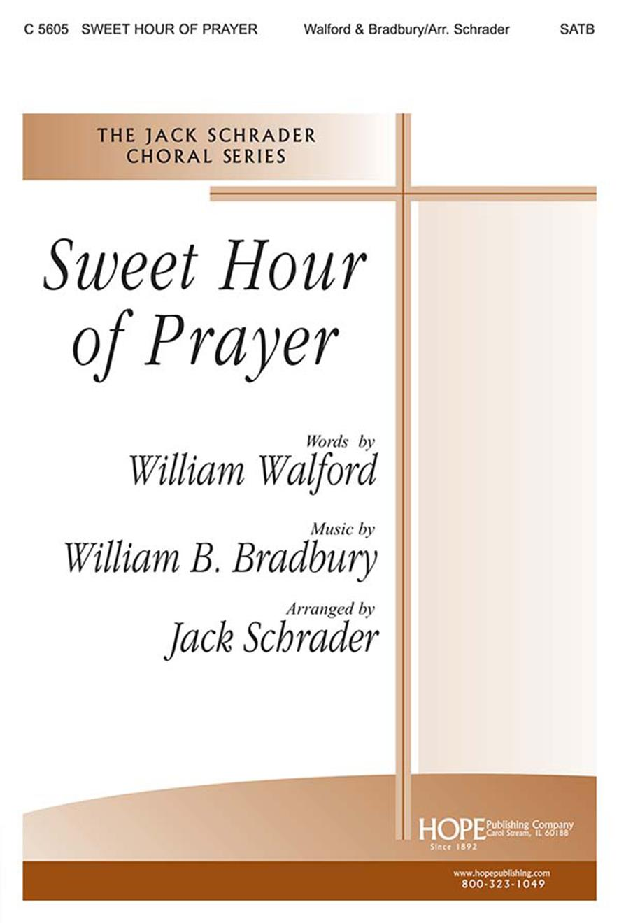 Sweet Hour of Prayer - SATB Cover Image