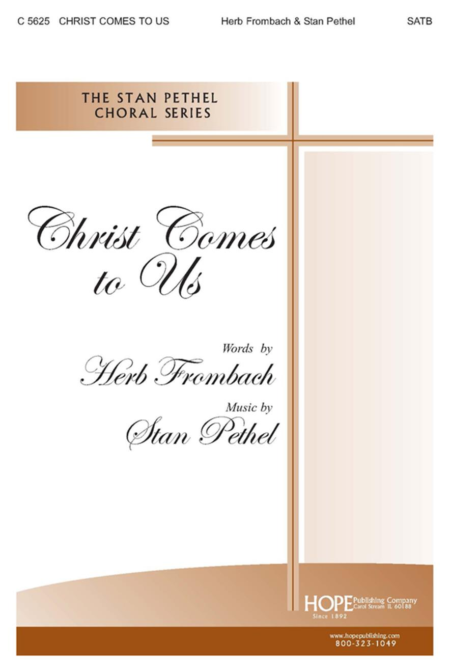 Christ Comes to Us - SATB Cover Image