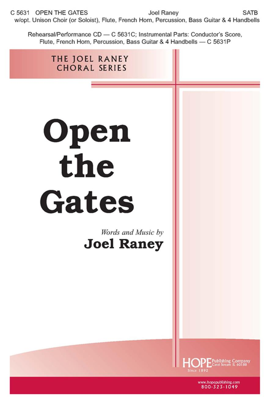 Open the Gates - SATB Cover Image