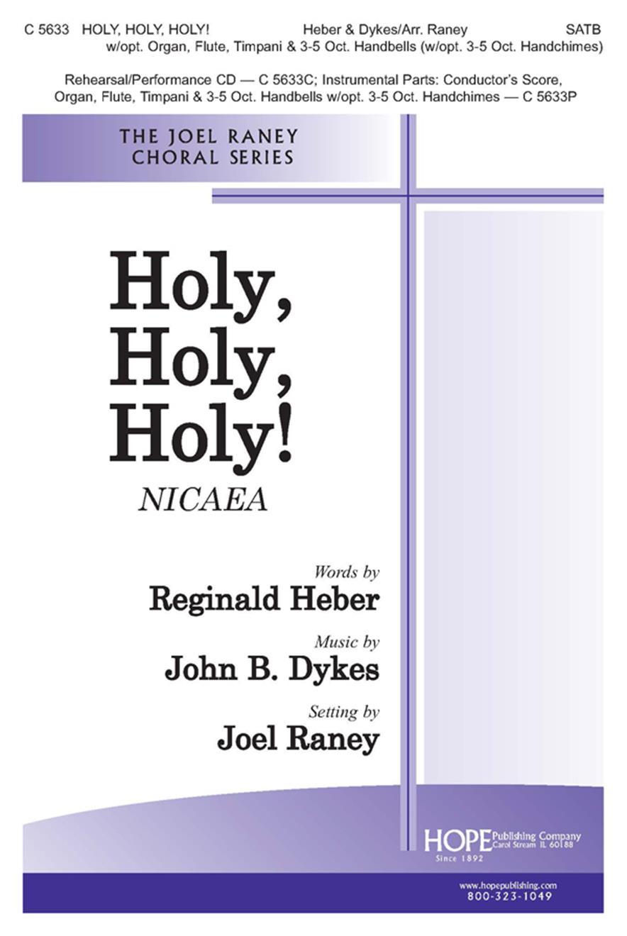 Holy Holy Holy - SATB Cover Image