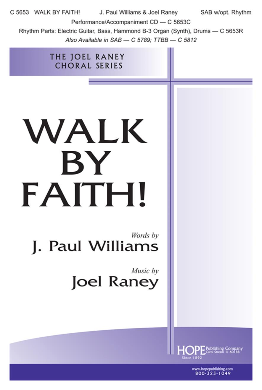 Walk by Faith - SATB Cover Image