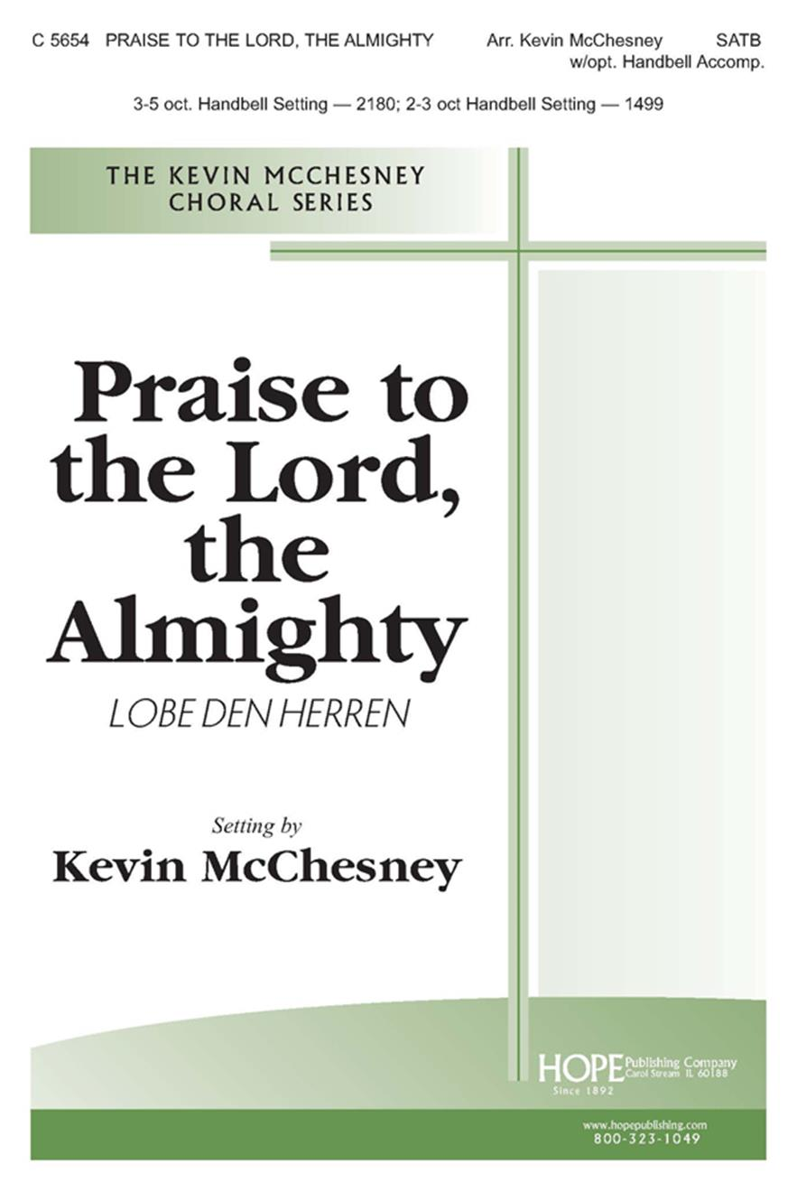 Praise to the Lord the Almighty - SATB Cover Image