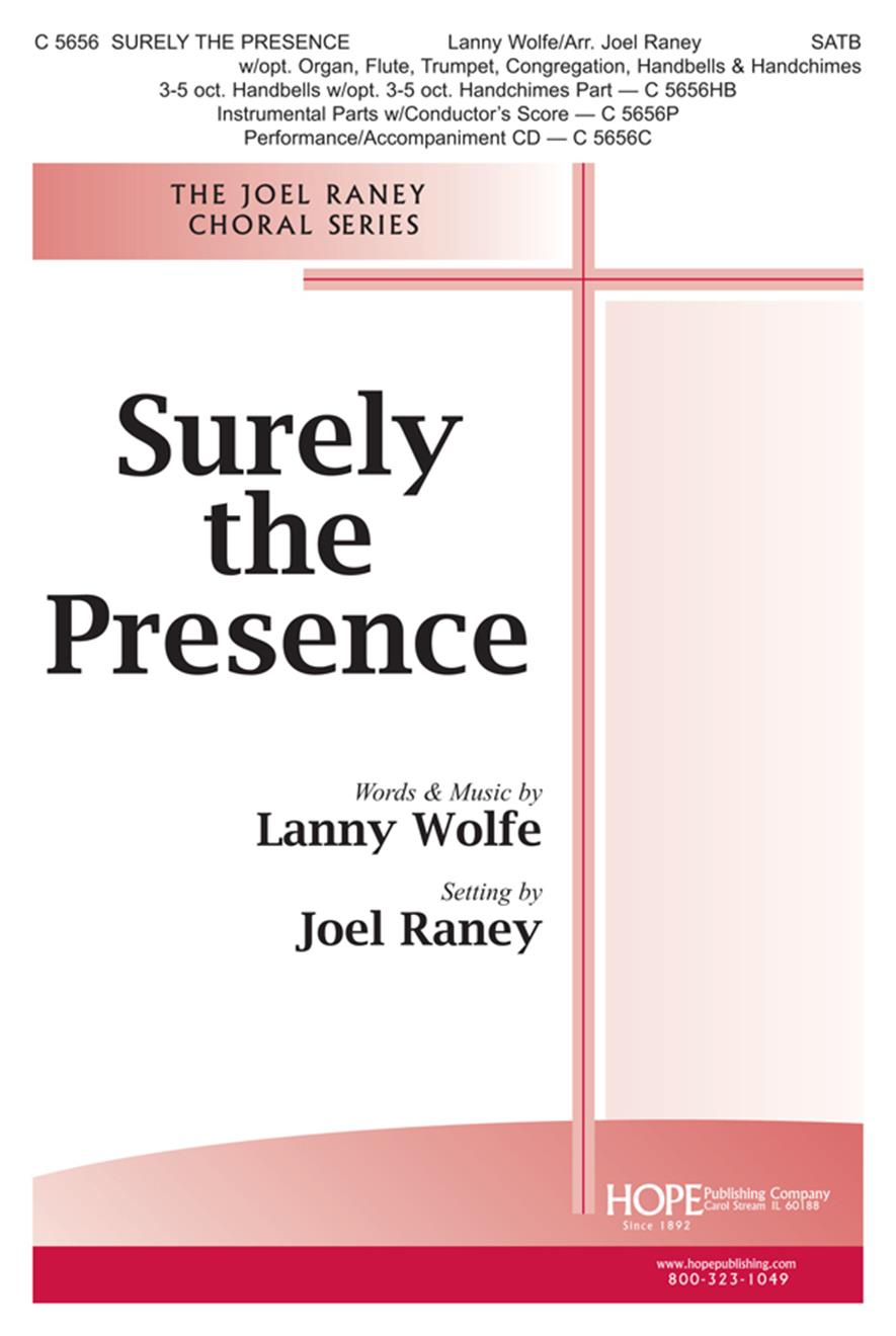 Surely the Presence - SATB Cover Image