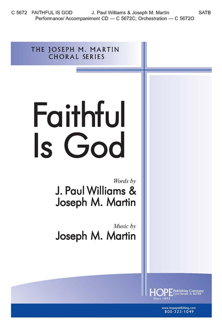 Faithful Is God - SATB Cover Image