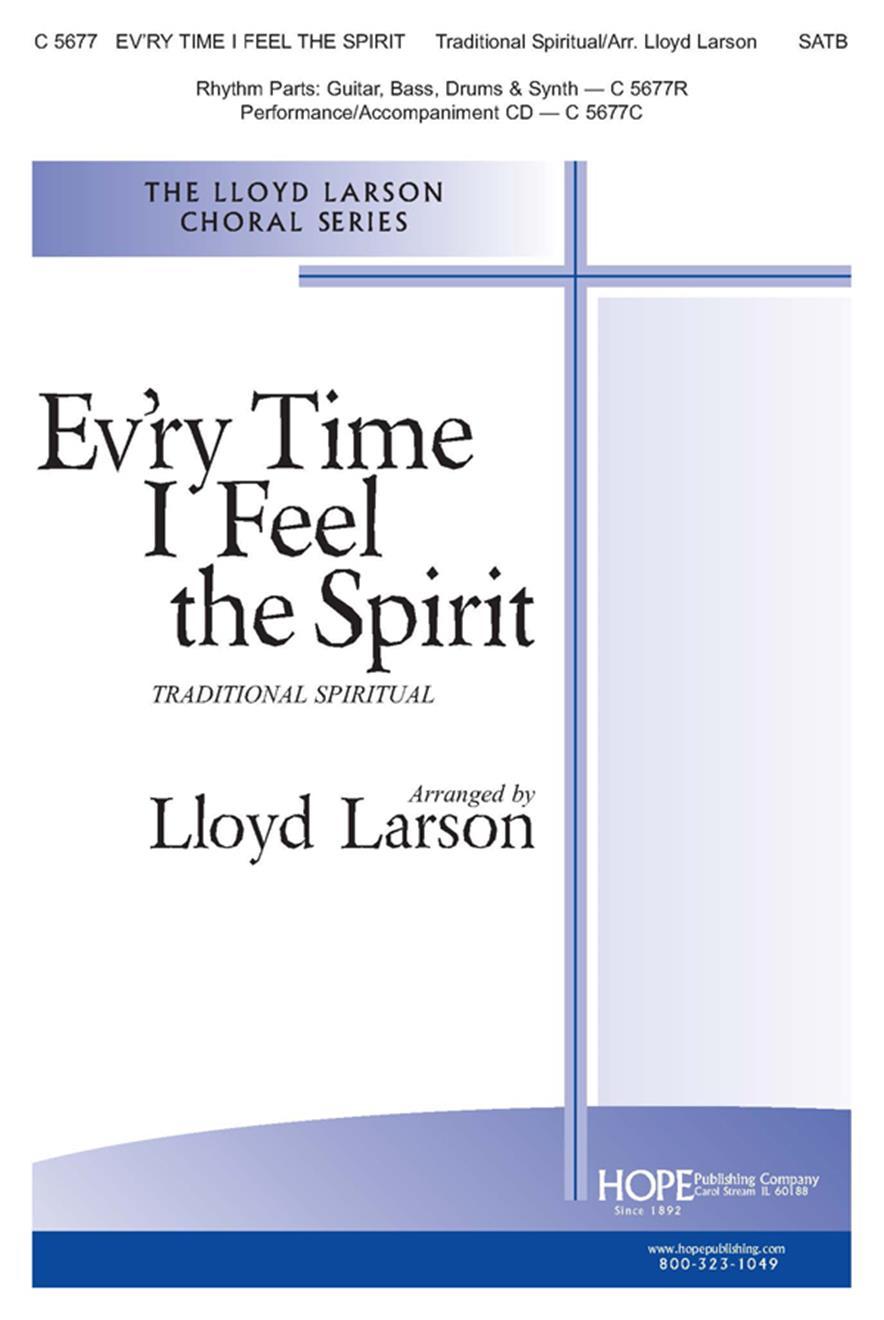 Ev'ry Time I Feel the Spirit - SATB Cover Image