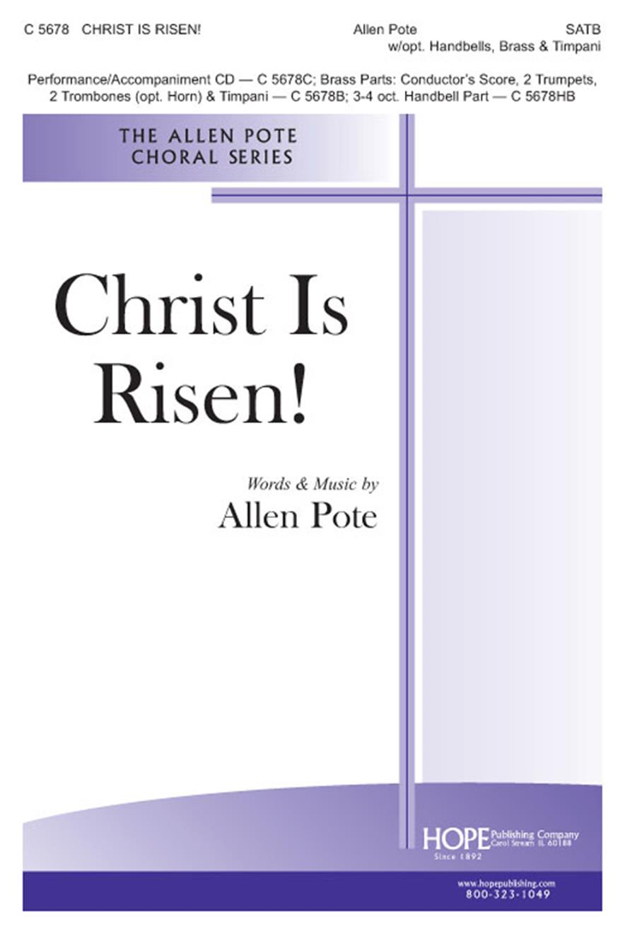 Christ Is Risen - SATB w-opt. Bells Brass and Timpani Cover Image