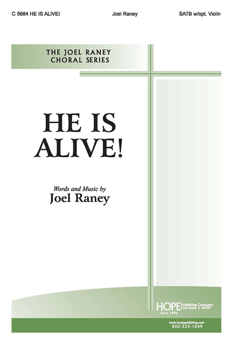 He Is Alive - SATB w-opt. Violin Cover Image