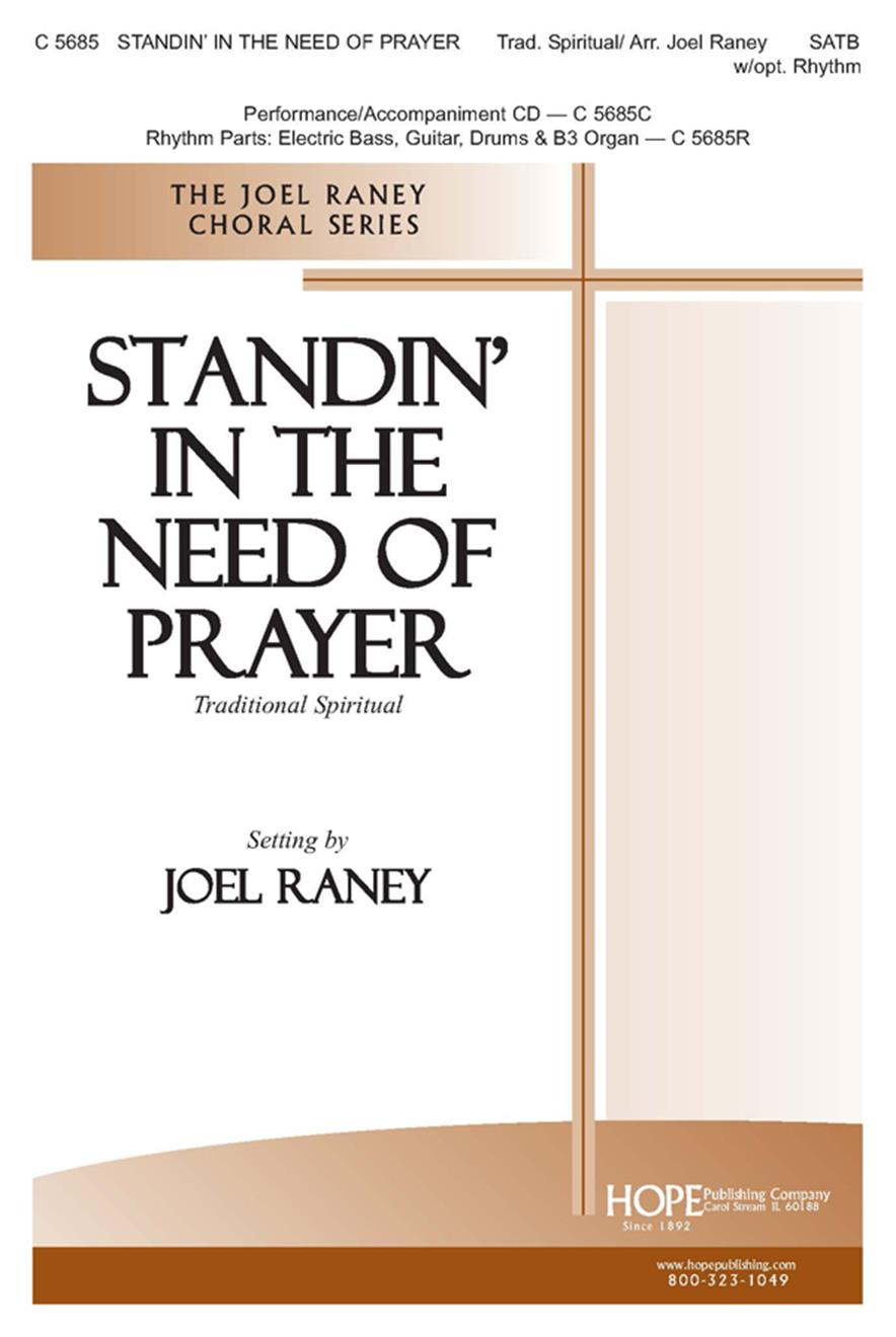 Standin' in the Need of Prayer - SATB Cover Image