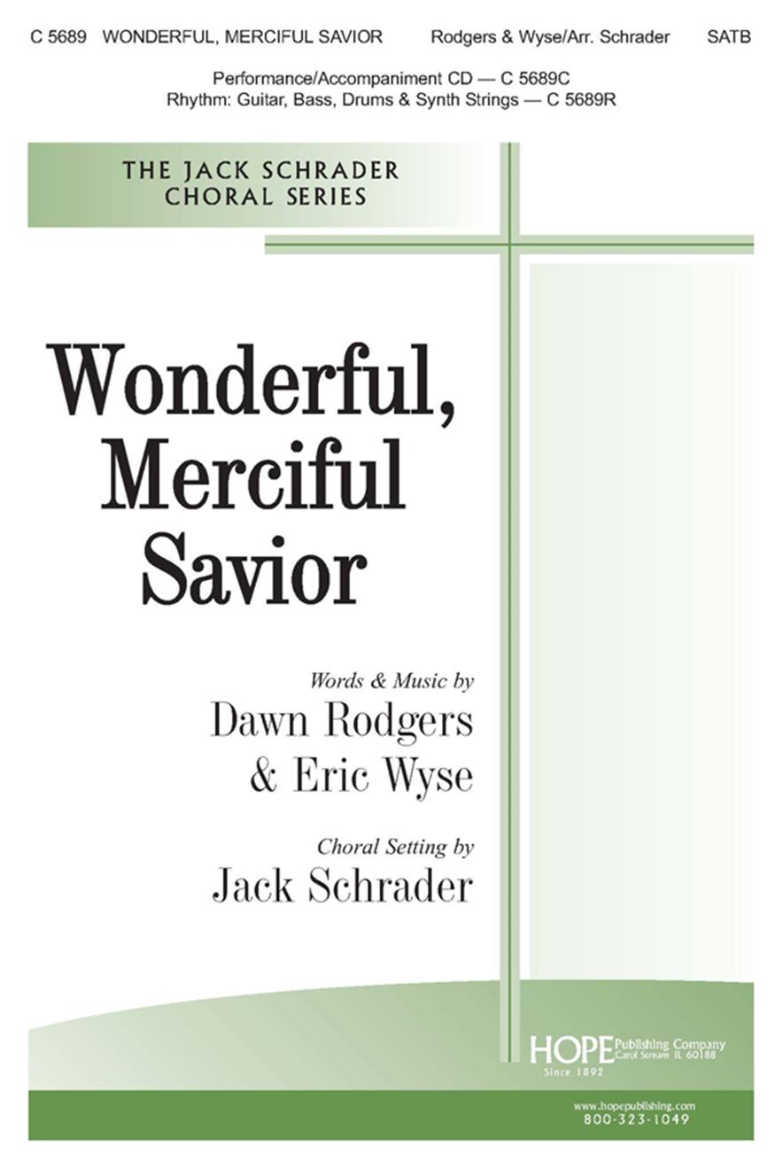 Wonderful Merciful Savior - SATB Cover Image