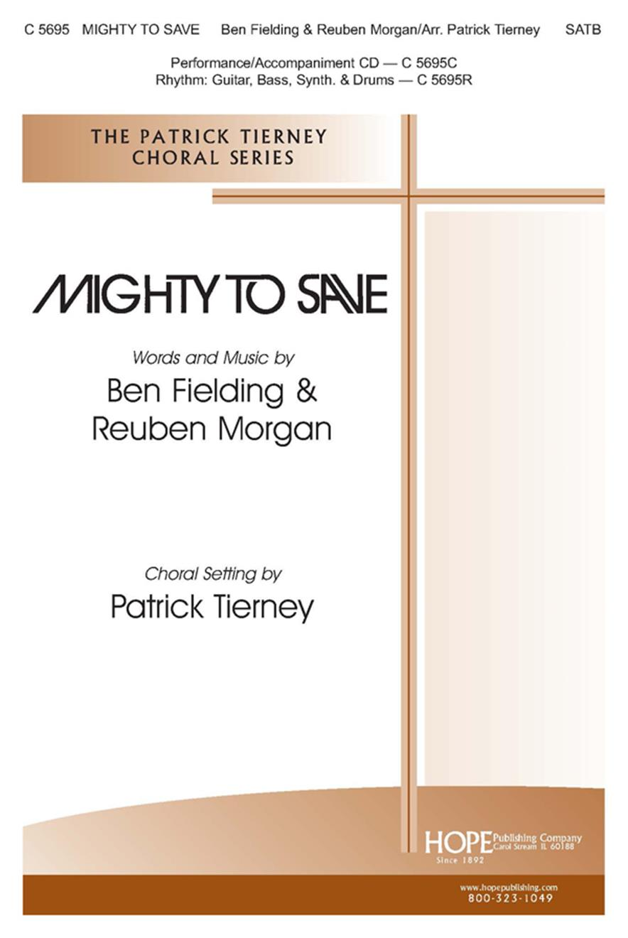 Mighty to Save - SATB Cover Image