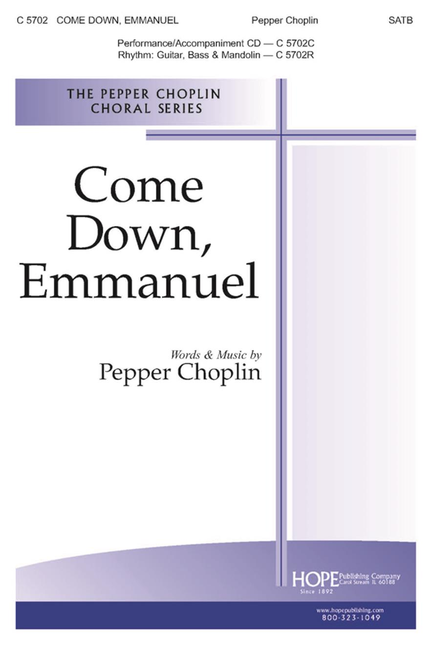 Come Down Emmanuel - SATB Cover Image