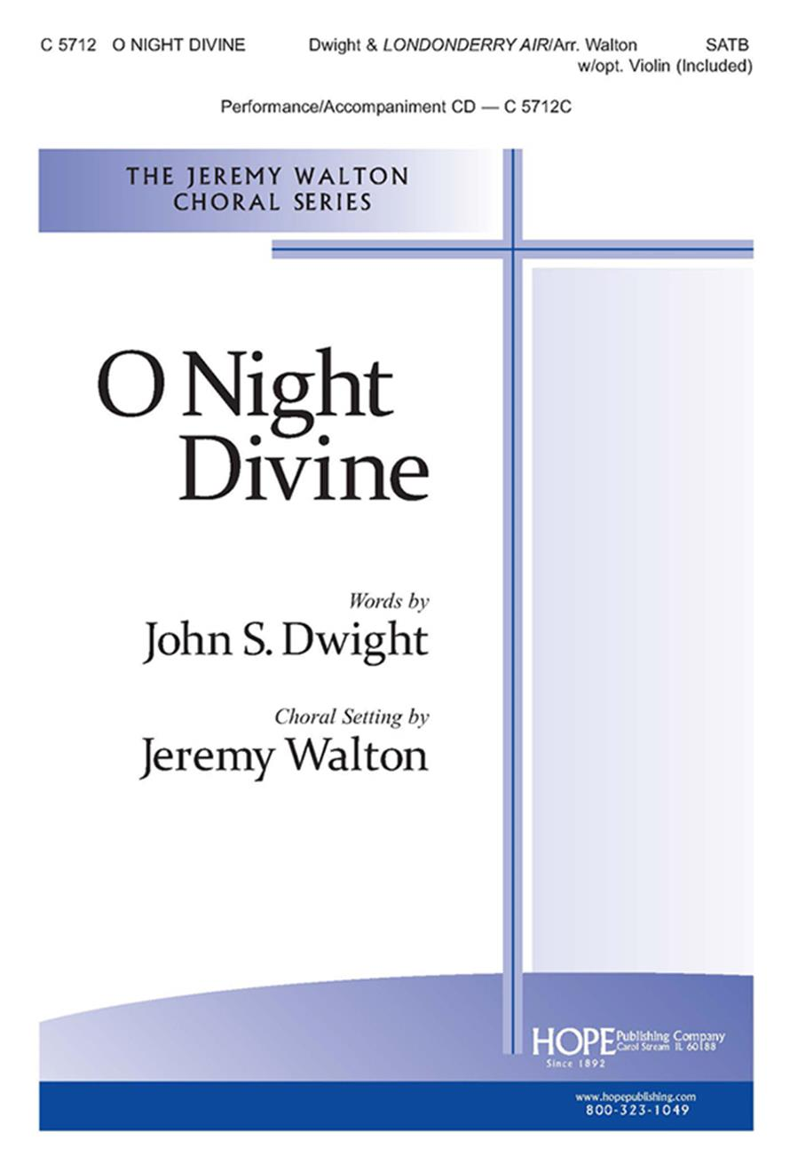 O Night Divine - SATB w-opt. Violin Cover Image