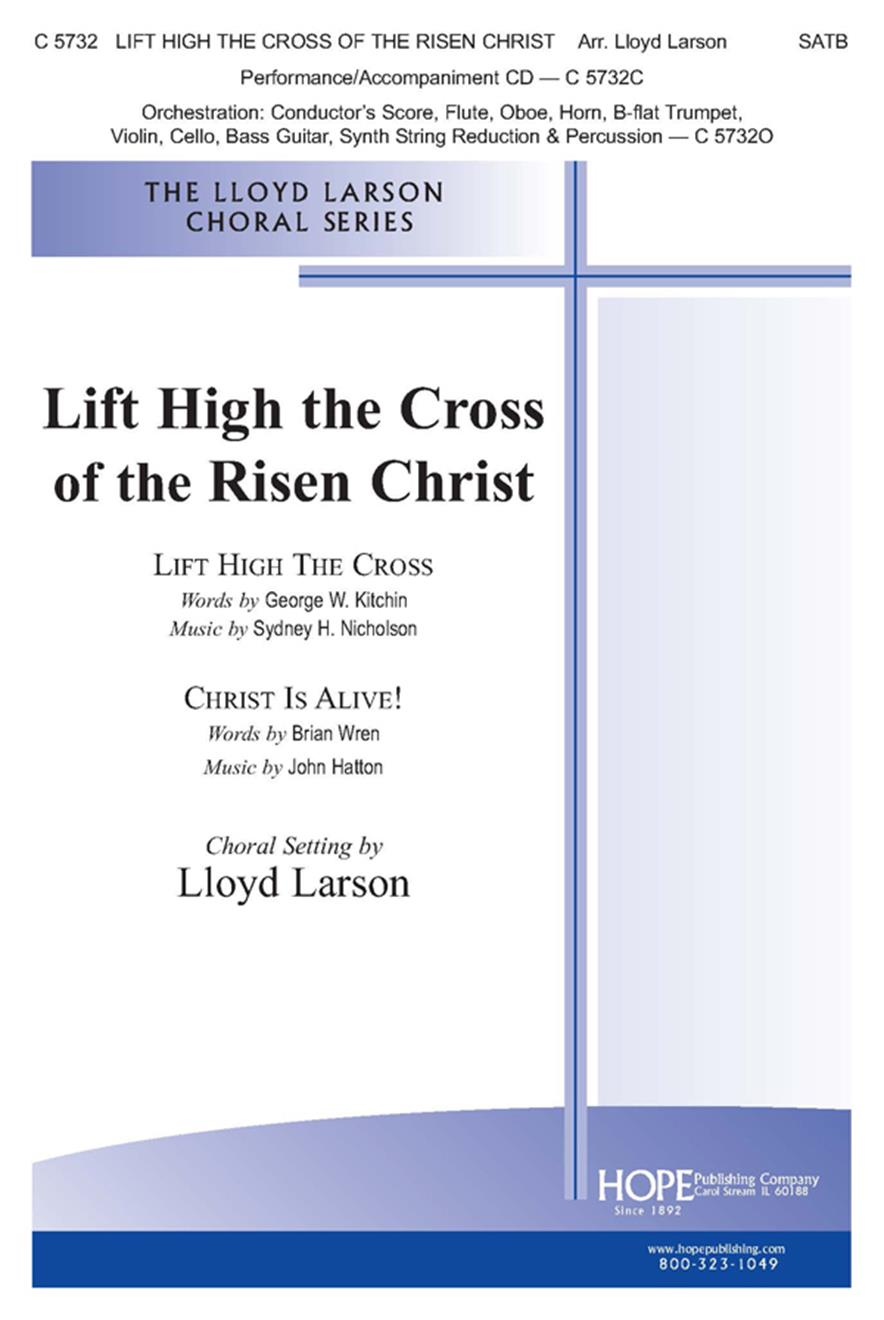 Lift High the Cross of the Risen Christ - SATB Cover Image