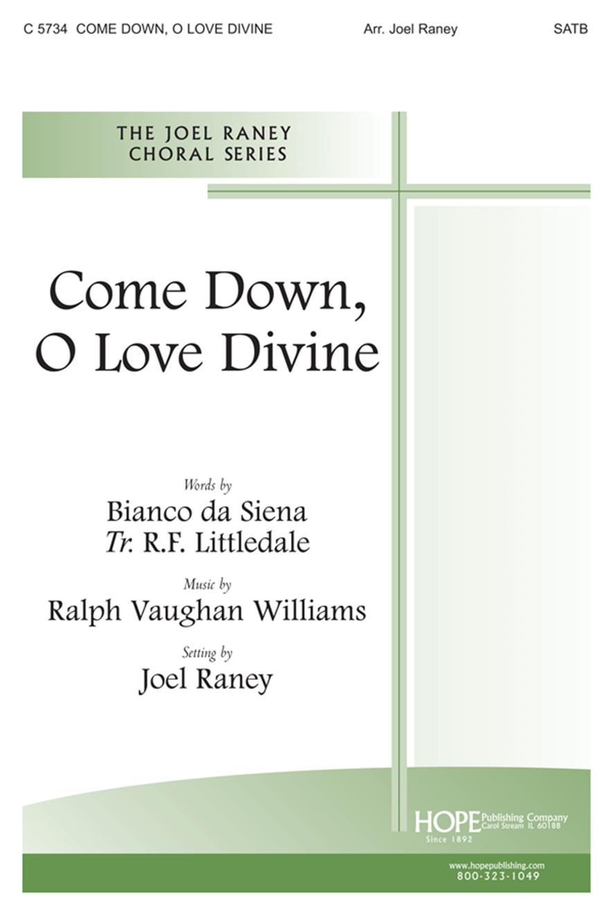 Come Down O Love Divine - SATB Cover Image