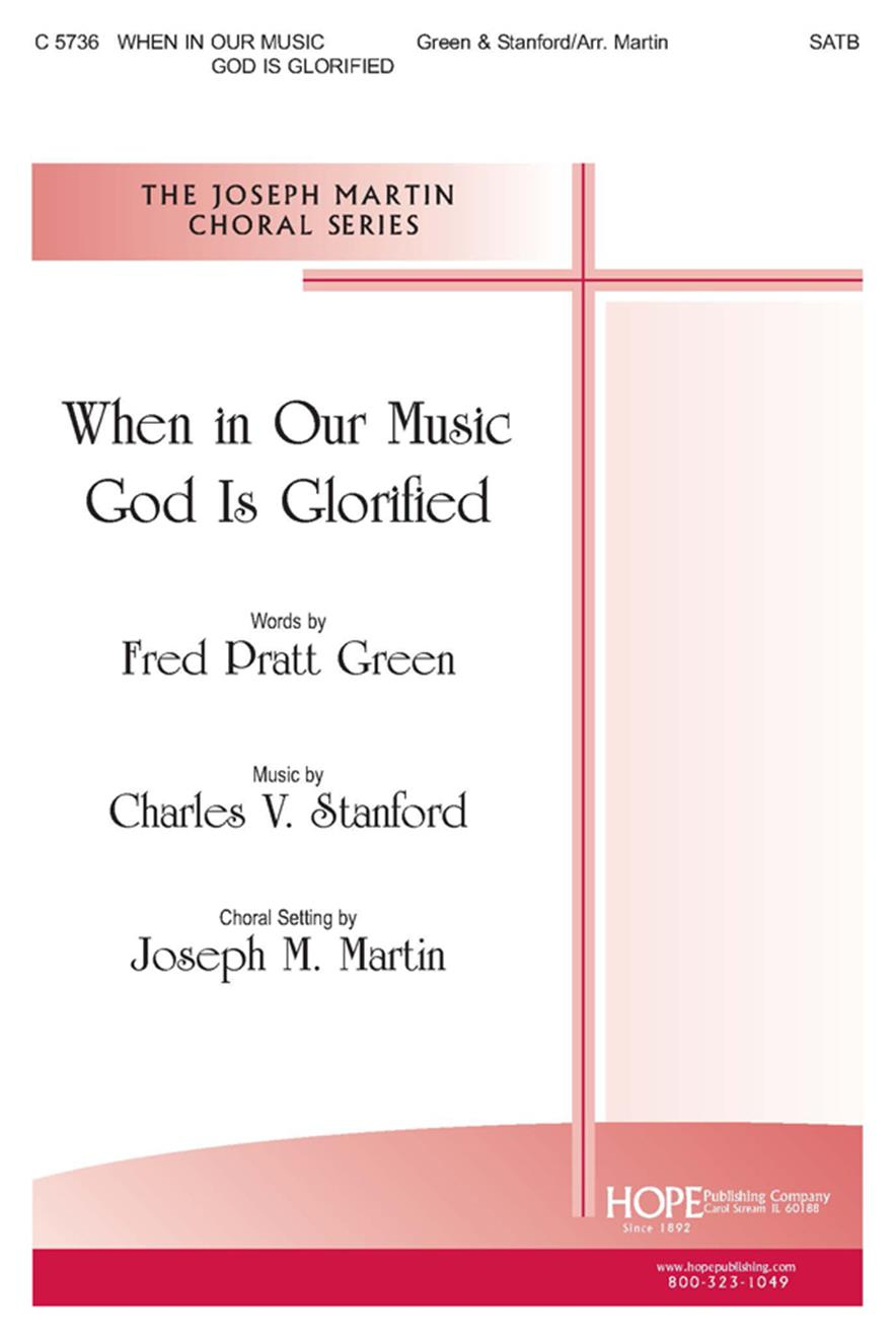 When in Our Music God Is Glorified - SATB Cover Image