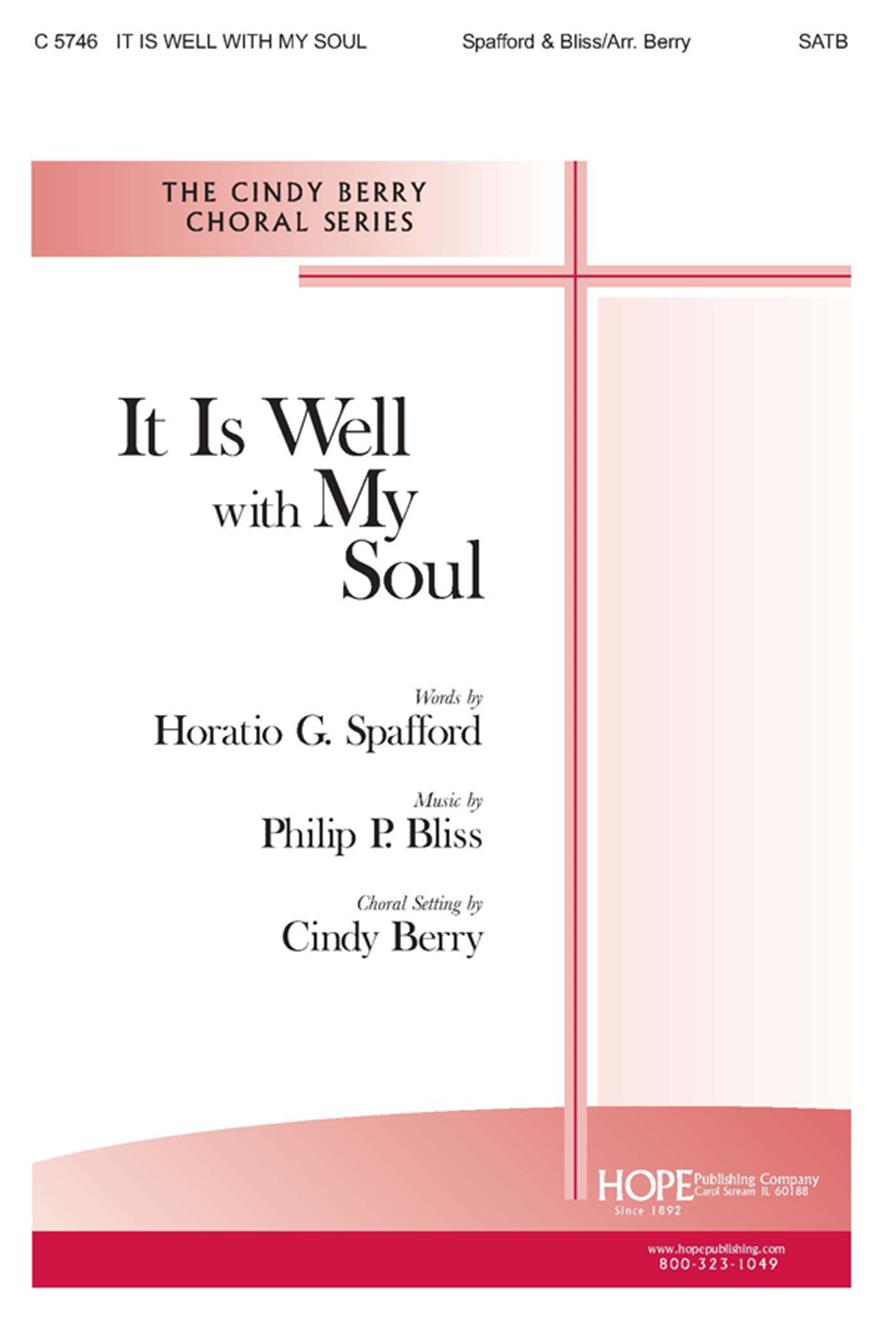 It Is Well with My Soul - SATB Cover Image