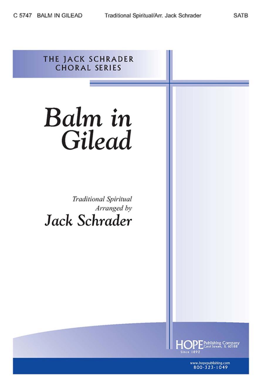 Balm in Gilead - SATB Cover Image